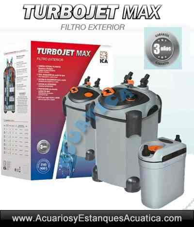 Filtro externo turbojet max uv acuarios acuarios y for Filtro acuario marino