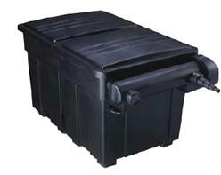 Filtro de gravedad 210l caja estanques uv c 36w incluida for Filtros para estanques de jardin