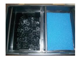 Filtro de gravedad 210l caja estanques uv c 36w incluida for Filtro estanque koi