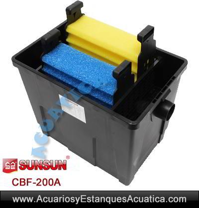 SUNSUN-CBF200A-filtro-para-estanques-abierto-esponja-gravedad-filtracion-koi-peces-bomba-uv