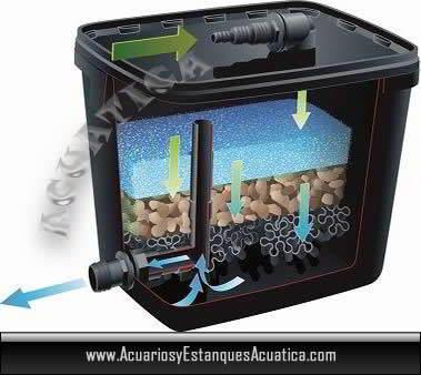 Ubbink filtrapure 7000 filtro estanque for Filtros de agua para estanques de peces