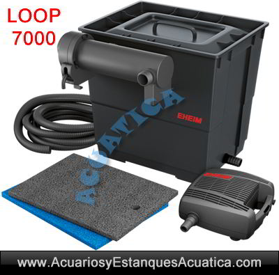 eheim-LOOP-7000-kit-set-filtracion-filtro-estanque-bomba-uv