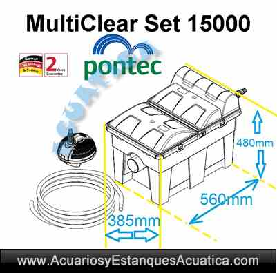 pontec-multiclear-set-15000-estanque-bomba-filtro-gravedad-esterilizador-ultravioleta-kit-medidas