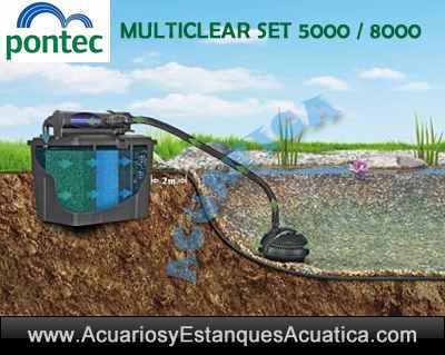 pontec-multiclear-set-5000-8000-15000-estanque-filtro-bomba-clarificador-uv-instalacion