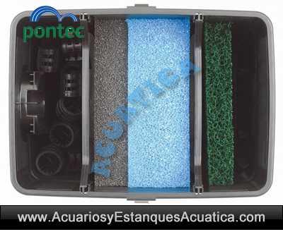 pontec-multiclear-set-5000-8000-estanque-filtro-gravedad-filtracion-detalle