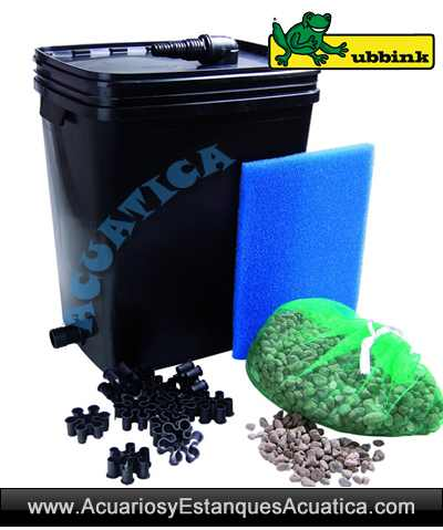 Ubbink filtrapure 7000 filtro estanque for Filtro estanque peces