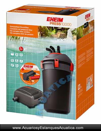 eheim-PRESS-10000-filtro-estanque-kit-bomba-uvc-filtracion-depuradora-agua-caja