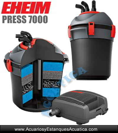 eheim-PRESS-7000-filtro-estanque-kit-bomba-uvc-filtracion-depuradora-agua-presion-cascada