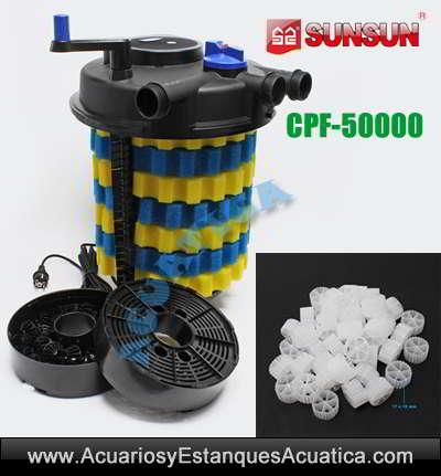 sunsun-cpf-50000-filtro-estanque-a-presion-kaldnes-biologico-mecanico-koi-carpas-charca-filtracion-uv-55w-medios