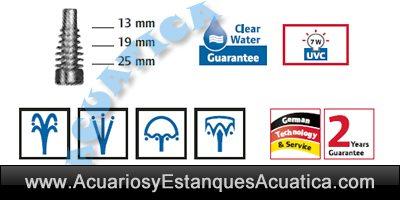 Pontec-PondoRell-3000-filtro-sumergible-estanque-uv-iconos-boquillas-fuente