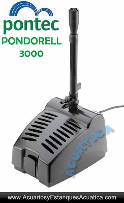 pontec-pondorell-3000-filtro-fuente-juegos-agua-uv-c-ultravioleta-estanque-charca-laguna
