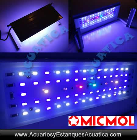 pantalla-led-iluminacion-acuario-marino-dulce-agua-micmol-aqua-air-24w-48w-72w-96W-detalle-luces