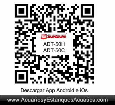sunsun-adt-50h-50c-ufo-pantalla-led-iluminacion-acuario-marino-arrecife-dulce-plantado-descarga-app-android-ios