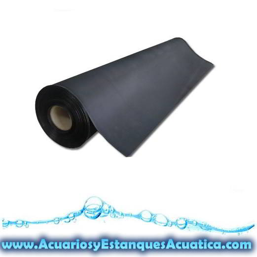 lona construccion estanques caucho epdm 1 2mm acuarios y