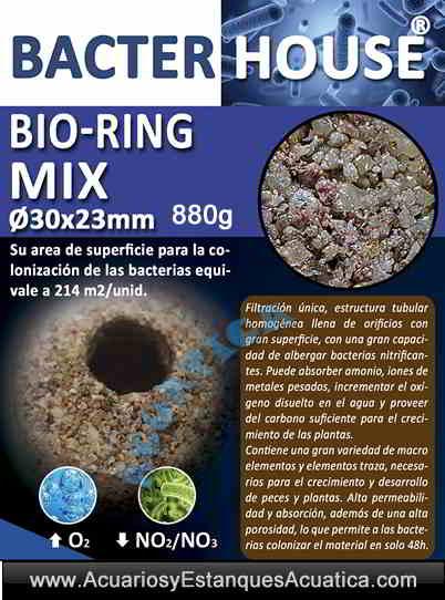 bacterhouse-bio-rings/bacterhouse-bio-ring-mix-material-filtrante-poroso-acuario-estanque-banner