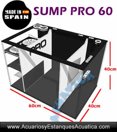 sump-PRO-60-zetreef-acuarios-marinos-urna-debajo-filtracion-medidas