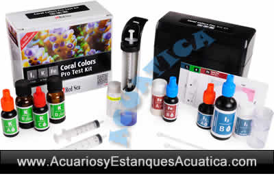 red-sea-Test-Coral-Colors-Pro-Multi-Test-Kit-I2-K-Fe-3-en-1-acuario-marino-corales